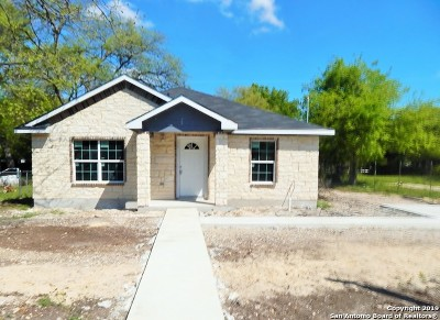 San Antonio Single Family Home New: 1415 W Harding Blvd