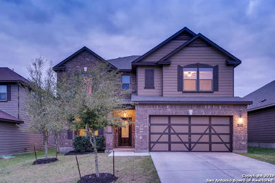 San Antonio Single Family Home New: 13010 Stags Leap