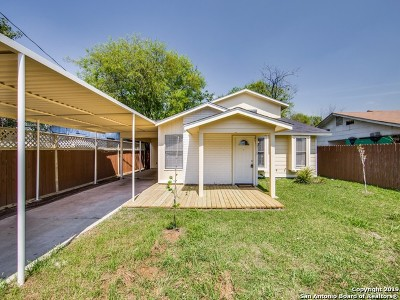 San Antonio Single Family Home New: 5115 Rita Ave