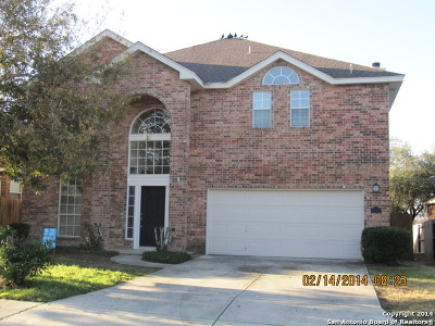 San Antonio Single Family Home New: 1510 Crescent View