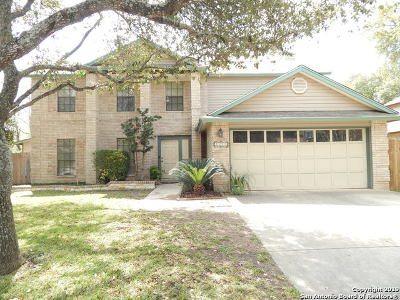San Antonio Single Family Home New: 7315 Sidbury Circle