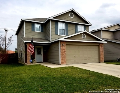 San Antonio Single Family Home New: 302 Coriander Bend