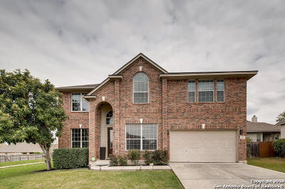 Cibolo Single Family Home For Sale: 100 Spring Fawn