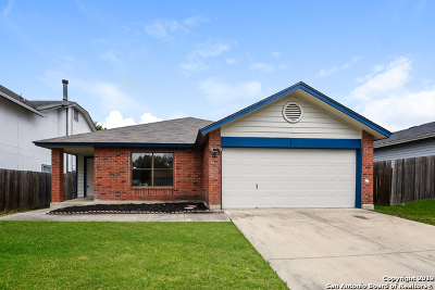 Converse Single Family Home New: 8144 Maple Meadow Dr