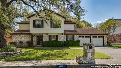 San Antonio Single Family Home New: 14035 Woodstream