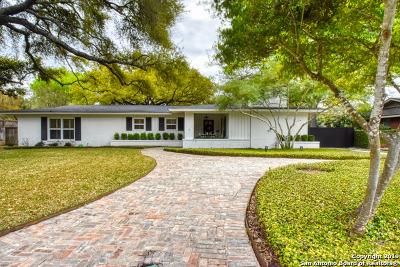 San Antonio Single Family Home Active Option: 144 Oak Park Dr