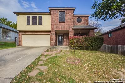 San Antonio Single Family Home New: 8304 Cross Spring