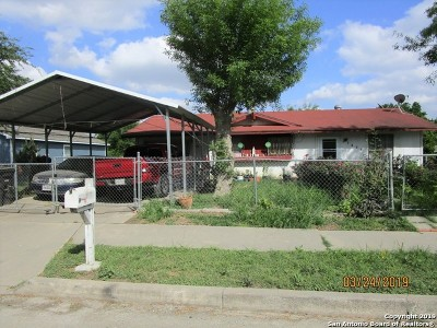 San Antonio Single Family Home New: 7438 Gentle Valley Dr
