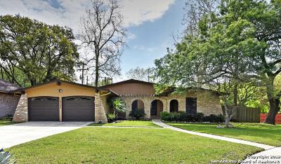San Antonio Single Family Home New: 16302 Deer Pass St