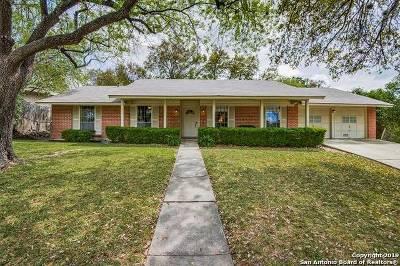San Antonio Single Family Home New: 3210 Tophill Rd