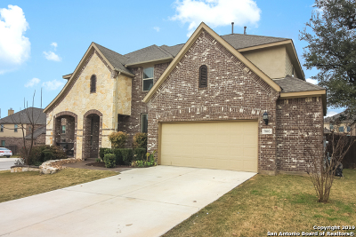 Alamo Ranch Single Family Home Price Change: 5803 Amber Rose