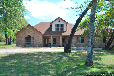 Floresville TX Single Family Home For Sale: $330,000