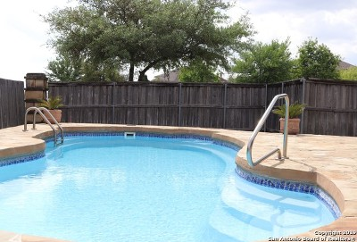 Cibolo Single Family Home Active Option: 301 Hazeltine Way