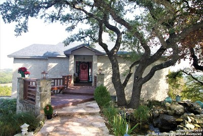 Fair Oaks Ranch Single Family Home Active Option: 8135 Kahilan Dr