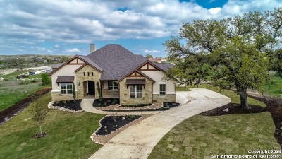 New Braunfels Single Family Home For Sale: 1832 Bardolino
