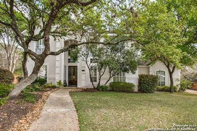 Stone Oak Single Family Home Price Change: 19208 Reata Cove