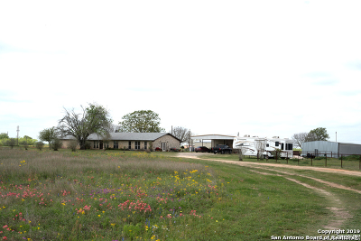 Atascosa County Single Family Home For Sale: 11415 State Hwy 16
