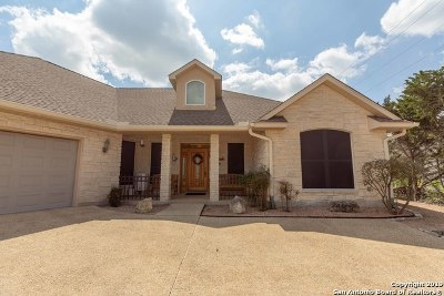 Kerrville Single Family Home Price Change: 2070 Summit Crest Dr