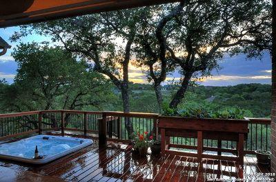 Canyon Lake Single Family Home Active Option: 1505 Redcloud Peak