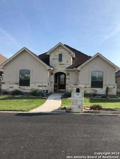 New Braunfels Single Family Home Price Change: 140 Keith Foster Dr