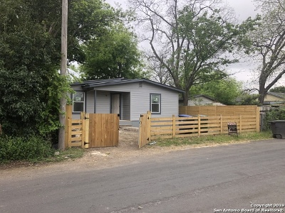 San Antonio Single Family Home Back on Market: 130 Orphan