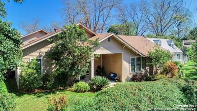 Alamo Heights Single Family Home For Sale: 131 Blue Bonnet Blvd