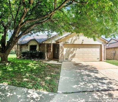 Schertz Single Family Home Active Option: 1045 Midwell