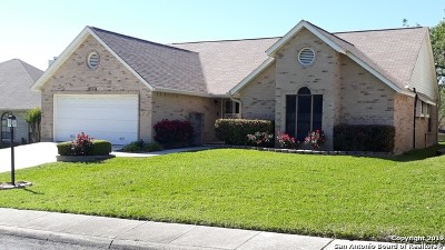 Schertz Single Family Home For Sale: 3616 Fox Run