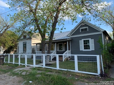 San Antonio Single Family Home Back on Market: 322 Indiana St