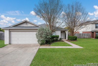 Bexar County Single Family Home Active Option: 1007 Creek Knoll