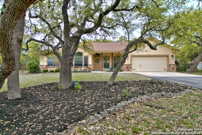 Spring Branch Single Family Home Active Option: 1786 Rustic Oak Ln