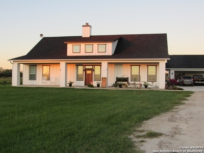 La Vernia Single Family Home For Sale: 657 County Road 338