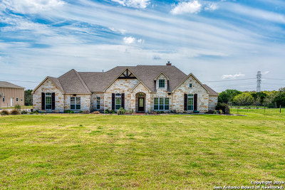 Bulverde Single Family Home Active Option: 947 Indigo Run Dr