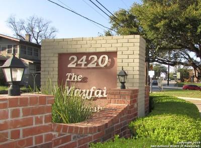 Condo/Townhouse Active Option: 2420 McCullough Ave #319