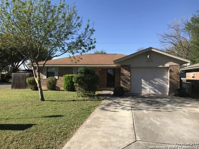 Cibolo Single Family Home New: 143 Sioux Circle