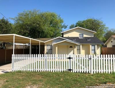 San Antonio Single Family Home Back on Market: 5115 Rita Ave