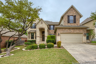 Stone Oak Single Family Home Active Option: 1007 Gazania Hill
