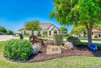 Spring Branch Single Family Home Back on Market: 812 River Way