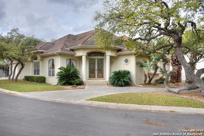 Stone Oak Single Family Home Price Change: 18835 Calle Cierra