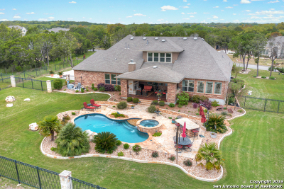 New Braunfels Single Family Home For Sale: 10810 Meadow Link