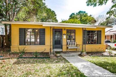 Alamo Heights Single Family Home For Sale: 120 Corona Ave