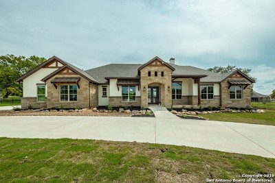 New Braunfels Single Family Home Active Option: 2018 Appellation