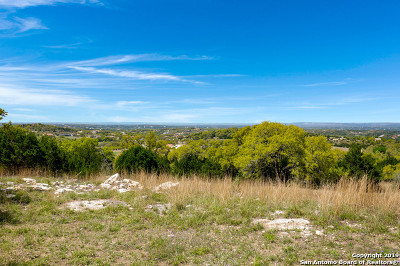Boerne Residential Lots & Land For Sale: Lot 7 Summit Pass