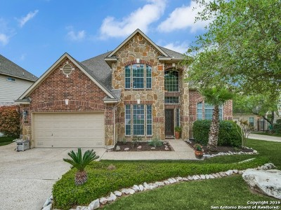 Heights At Stone Oak Single Family Home Active Option: 25906 Peregrine Ridge
