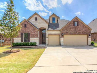 Boerne Single Family Home For Sale: 27015 Hardy Run