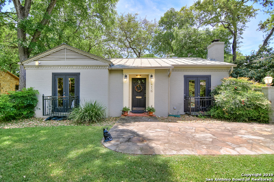 Bexar County Single Family Home For Sale: 416 College Blvd