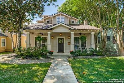 Alamo Heights Single Family Home Active Option: 316 Argo Ave