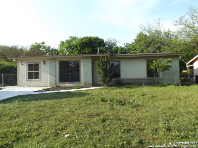 San Antonio Single Family Home Back on Market: 7411 Stagecoach Ln