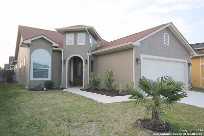 Converse Single Family Home For Sale: 3915 Bacall Way
