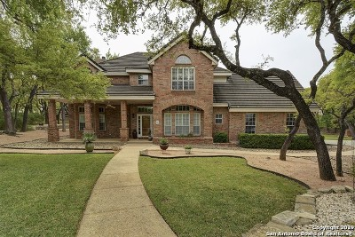 Fair Oaks Ranch Single Family Home Active Option: 7510 Sweetwind Circle